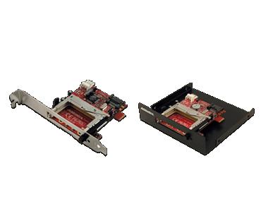 SATA - CF Adapter (model: ADSACF-N, ADSACFB and ADSACFW)