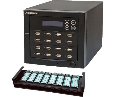 1:15 USB NVMe/Flash/HDD Duplicator (model: UDFHNVM15)
