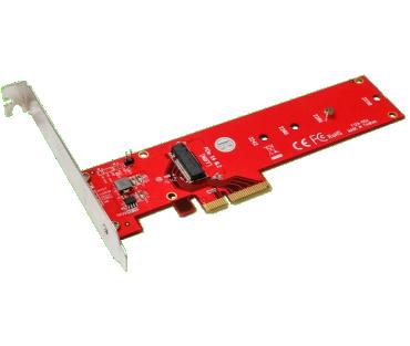 M2 PCIe / M2 NVMe adapter (model: ADM2NVMPX4)